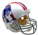 New England Patriots 1965-1981 Throwback Riddell NFL Full Size Deluxe Replica Football Helmet