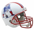 New England Patriots 1990-1992 Throwback Riddell NFL Full Size Deluxe Replica Football Helmet