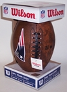 New England Patriots 11 inch Throwback Junior Size Football