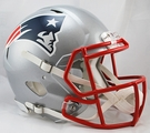 New England Patriots Riddell Authentic Revolution Speed NFL Full Size On Field Football Helmet