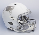New England Patriots Riddell ICE Alternate NFL Full Size Deluxe Replica Speed Football Helmet