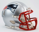 New England Patriots Speed Revolution Riddell Mini Football Helmet