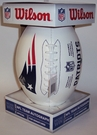 New England Patriots - Wilson F1193 NFL® Signature Series Autograph Football