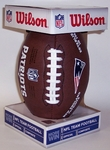 New England Patriots - Wilson F1748 Composite Leather Full Size Football