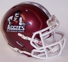 New Mexico State Aggies Speed Riddell Mini Football Helmet