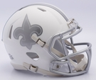 New Orleans Saints - ICE alternate Speed Riddell Mini Football Helmet