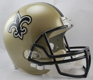 New Orleans Saints Riddell NFL Full Size Deluxe Replica Football Helmet