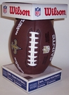New Orleans Saints - Wilson F1748 Composite Leather Full Size Football