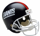 New York Giants 1981-1999 Throwback Riddell NFL Full Size Deluxe Replica Football Helmet