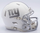 New York Giants - ICE alternate Speed Riddell Mini Football Helmet
