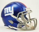 New York Giants Speed Revolution Riddell Mini Football Helmet