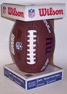 New York Giants - Wilson F1748 Composite Leather Full Size Football