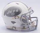 New York Jets - ICE alternate Speed Riddell Mini Football Helmet