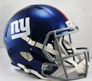 New York NY Giants Riddell NFL Full Size Deluxe Replica Speed Football Helmet