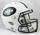 New York NY Jets Riddell NFL Full Size Deluxe Replica Speed Football Helmet