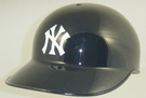 New York Yankees Rawlings Pro Full Size Authentic MLB No Ear Flap Batting Helmet - Model Number: CCPBH