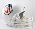 NFL Shield Logo Riddell NFL Full Size Deluxe Replica Football Helmet