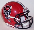 North Carolina State Wolfpack Tuffy Speed Riddell Mini Football Helmet