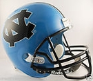 North Carolina Tarheels Riddell NCAA Full Size Deluxe Replica Football Helmet