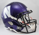 Northwestern Riddell NCAA Full Size Deluxe Replica Speed Football Helmet