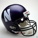 Northwestern Wildcats Riddell NCAA Full Size Deluxe Replica Football Helmet