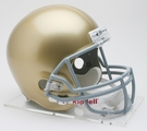 Notre Dame Autographed Full Size Riddell Deluxe Replica Football Helmets