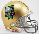 Notre Dame Fighting Irish 2015 Boston Series Shamrock Riddell Mini Football Helmet