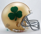Notre Dame Fighting Irish - Shamrock - VSR4 Riddell Mini Football Helmet