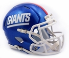 NY Giants - Color Rush Alternate Speed Riddell Mini Football Helmet