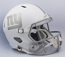 NY Giants Riddell ICE Alternate NFL Full Size Deluxe Replica Speed Football Helmet