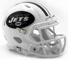 NY Jets - Color Rush Alternate Speed Riddell Mini Football Helmet