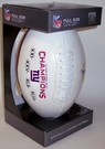 NY New York Giants 4x Super Bowl Champs Signature Series Team Logo Full Size Footballs