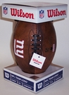 NY New York Giants 11 inch Throwback Junior Size Football