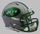 NY New York Jets - Blaze Alternate Speed Riddell Mini Football Helmet