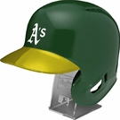 Oakland A's - Rawlings Full Size MLB Batting Helmet - Model Number: MLBRL-OAK