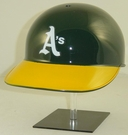 Oakland A's Rawlings Pro Full Size Authentic MLB Batting Helmet - Model Number: CCPBH