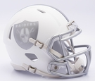 Oakland Raiders - ICE alternate Speed Riddell Mini Football Helmet