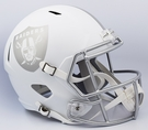 Oakland Raiders Riddell ICE Alternate NFL Full Size Deluxe Replica Speed Football Helmet