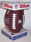 Oakland Raiders - Wilson F1748 Composite Leather Full Size Football