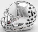 Ohio State Buckeyes - Chrome Alternate Speed Riddell Mini Football Helmet