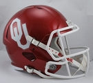 Oklahoma Sooners Riddell NCAA Full Size Deluxe Replica Speed Football Helmet