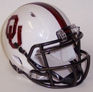 Oklahoma Sooners Speed Revolution Riddell Mini Football Helmet