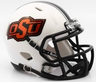 Oklahoma State Cowboys Chrome Decals Speed Riddell Mini Football Helmet