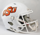 Oklahoma State Cowboys Riddell NCAA Full Size Deluxe Replica Speed Football Helmet