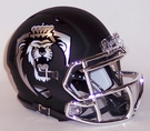 Old Dominion Matte Black Speed Riddell Mini Football Helmet