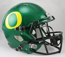 Oregon Duck Autographed Full Size Riddell Deluxe Replica Football Helmets