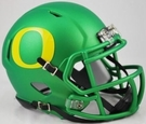 Oregon Ducks Apple Green Speed Riddell Mini Helmet