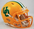 Oregon Ducks Yellow Throwback Speed Riddell Mini Football Helmet