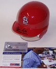 Ozzie Smith - Autographed Batting Mini Helmet - St. Louis Cardinals - PSA/DNA