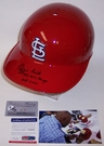 Ozzie Smith - Rawlings - Autographed Full Size Authentic Batting Helmet - St. Louis Cardinals - PSA/DNA